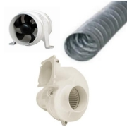 Air Ducting, Blowers & Extractor Fans